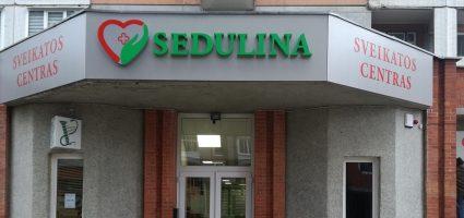 Karantino metu keičiasi Sedulinos sveikatos centro paslaugų teikimo tvarką